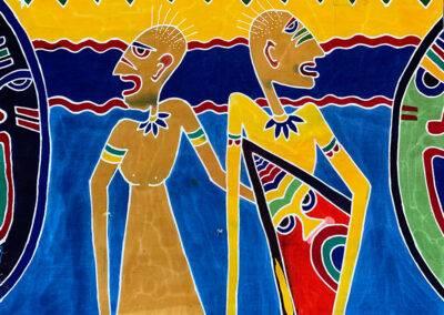 Batik Schilderijen en Doeken